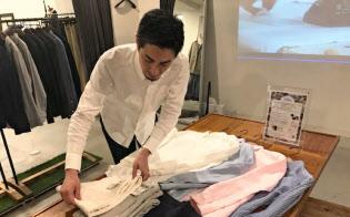 汚れないパンツを開発した山田社長
