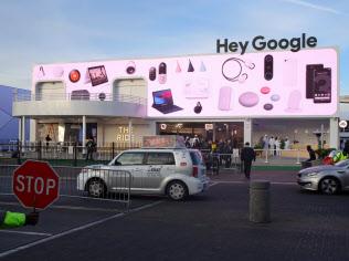 米グーグルは本業のインターネット広告事業の収益性が下がっている(2019年1月、米ラスベガス)
