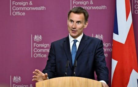英国からはハント外相がイラン問題の協議に出席する(ロイター)