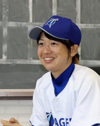 女子野球発展のため、実力伯仲した実業団リーグの誕生を願う