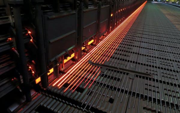 東京五輪の施設やインフラ工事向けに出荷が伸びた(関東の電炉)