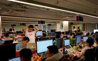 中国ではIT業界を中心に長時間労働が常態化している(写真と本文は関係ありません)=ロイター