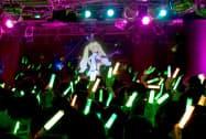 バルスが企画・制作したバーチャルキャラクターのライブ