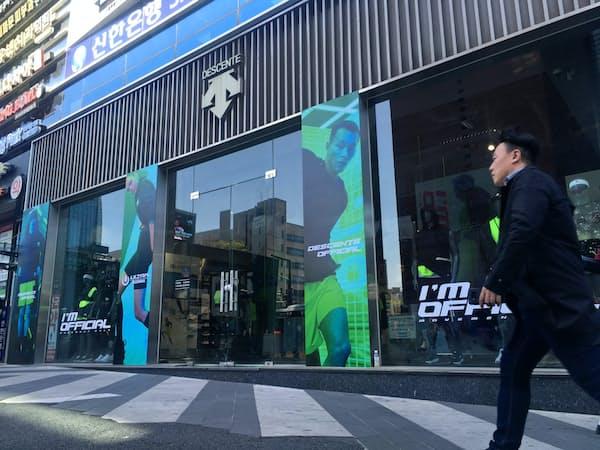 伊藤忠から「韓国依存」を指摘された(ソウルの店舗)