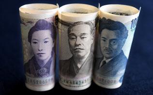 1万円札、5千円札、千円札