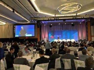 ニューヨーク市で世界最大規模の仮想通貨イベント「コンセンサス」が開催された