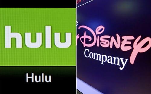 ディズニーはHuluを傘下に収め、動画配信事業を強化する=AP