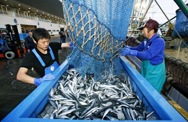 公海での漁獲割当量を年33万トンで合意した