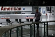 アメリカン航空は3月にベネズエラ便から撤退した(カラカスの事務所)=ロイター