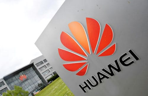 ファーウェイは中国最大の通信機器メーカーだ=ロイター