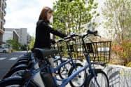 IoT電動アシスト自転車を使った実証実験を始める(16日、横浜市)