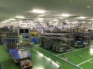 村上開明堂は研究開発投資を積み増している(静岡県藤枝市の築地工場)