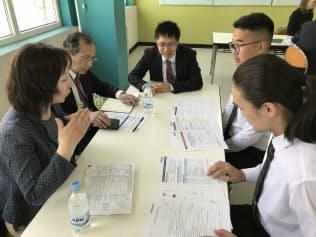 モンゴルの高専生に品川企業の魅力を伝えた(現地での説明会)