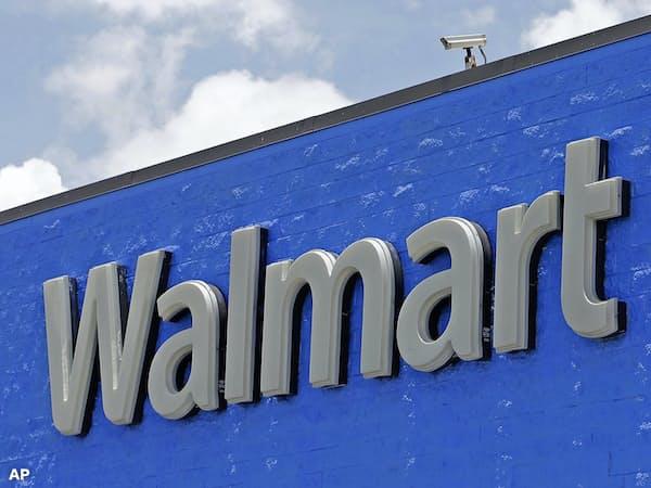 ウォルマートは2~4月のネット通販の売上高が4割増加した=AP