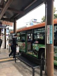 日本一長い路線バスも半額で乗れる(奈良県橿原市)