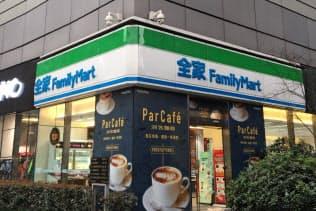 中国国内で営業するファミリーマート店舗