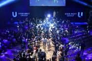 USEN―NEXT HOLDINGSの入社式の様子(4月、東京都江東区)