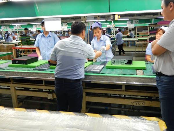 富士通は中国などの取引先企業を対象にCSR監査を実施している