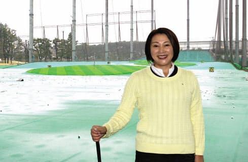 ヨッシー小山さんは「ショットを打つときにメンタル・ウォーム・アップを加えてほしい」と話す