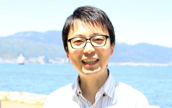 京都大学大学院准教授の柴田悠さん