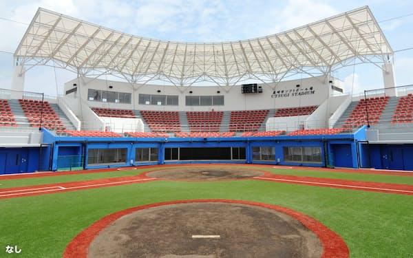 6月1日に開業する「宇津木スタジアム」(群馬県高崎市)