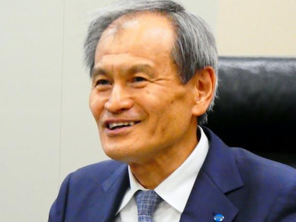 LIXILグループの会社側の社外取締役候補となった、コニカミノルタ取締役会議長の松崎正年氏