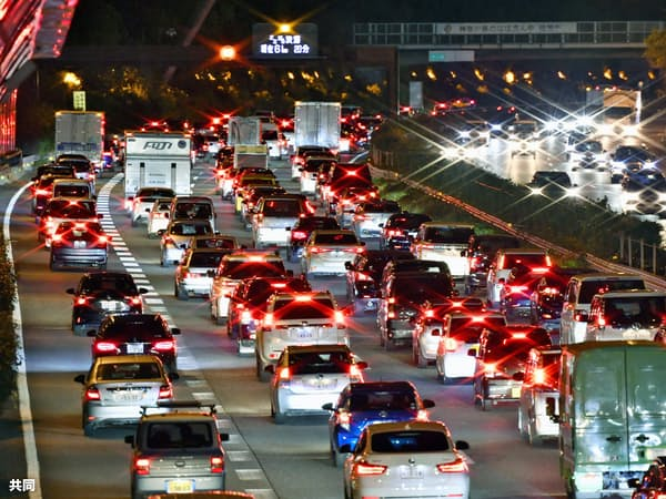 東名高速道路での渋滞予測サービスを1分単位にする検討に入った