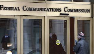 米連邦通信委員会(FCC)の建物(米ワシントン)=AP