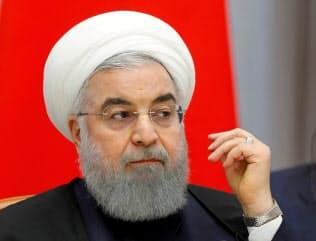 イランのロウハニ大統領=ロイター