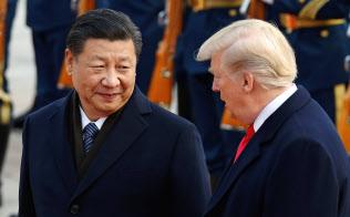 中国は、米国との全面的な貿易戦争に突き進む覚悟を固めつつある=ロイター
