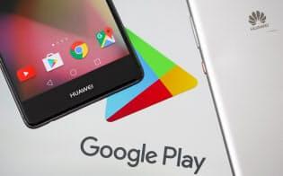 グーグルはこの10年間、ファーウェイと互恵関係を築いてきたが、米政府の輸出制限措置に従い、ファーウェイへのアンドロイドのソフトの提供停止を発表した=ロイター