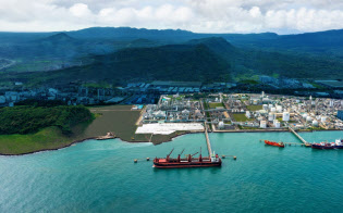 増設を予定しているインドネシアの化学品工場