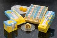 瀬戸内産のレモンを使用した「一六タルト塩レモン」