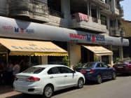 ムンバイ市内のマルチ・スズキの販売店