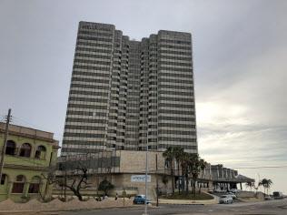 メリア社はキューバで多くのホテルを運営する(ハバナ市内のホテル)