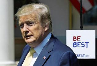 トランプ米大統領は6月上旬に英国とフランスも訪れる(7日、ワシントン)=ロイター