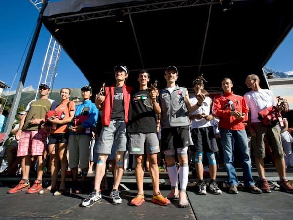 2009年UTMBで3位となった表彰台では喜びもそこそこに次の課題を探す自分がいた