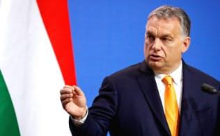 ハンガリーのオルバン首相は、欧州議会選挙で勢力拡大を狙う=ロイター
