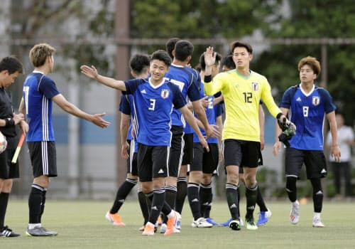 U-20日本代表はU-20W杯でエクアドル、メキシコ、イタリアと対戦する=共同