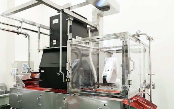 アヲハタはニコンとジャム用の異物検査装置を共同開発した
