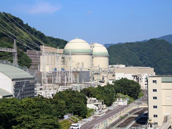 関西電力高浜原発3、4号機(福井県高浜町)