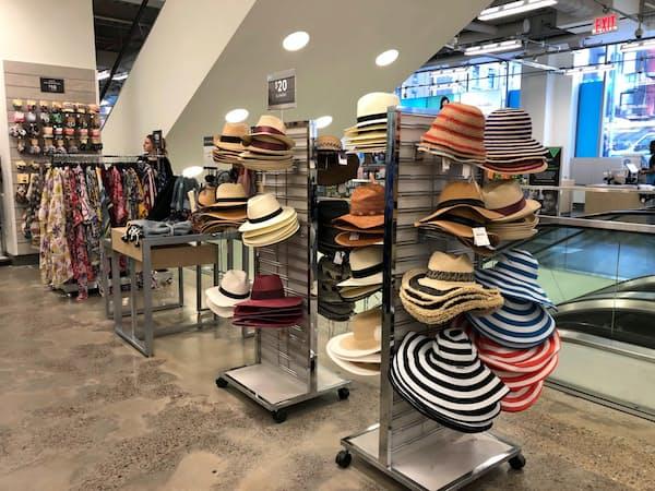 米百貨店ノードストロームは今期の売上高予想を下方修正した。(ニューヨーク州の店舗)