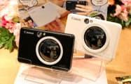キヤノンが発売するインスタントカメラプリンター「インスピック ZV―123」