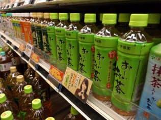緑茶飲料「お~いお茶」はロングセラーを続けている