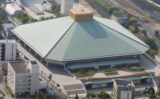 東京五輪でボクシング会場となる国技館(東京都墨田区)