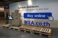 タイでイケアのネット通販が開始(23日、バンコク北部のノンタブリ県)