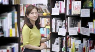 隆祥館書店の二村知子さん(写真 松浦弘昌)