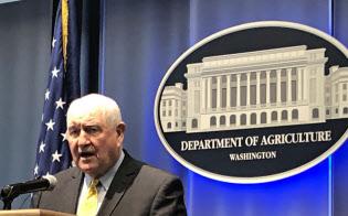 パーデュー農務長官は米中関係は重要だとして最終的な合意を望んでいる