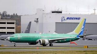 737MAXは3月半ばから運航停止が続いている=AP