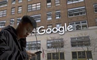 ニューヨークでも存在感を示しつつあるグーグルの陰にはニューヨークで1、2位を争う辣腕不動産ブローカーがいる=AP